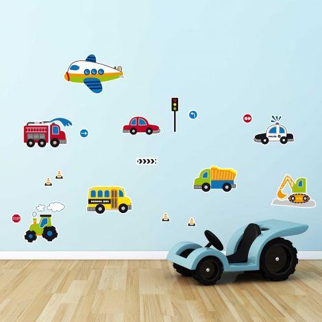 Stickers muraux Traffic