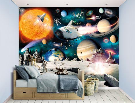 Papier peint Aventure spatiale