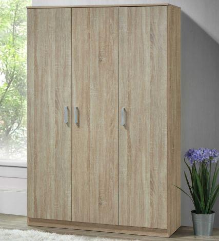 Armoire Lias 3 portes & profonde de 42 cm