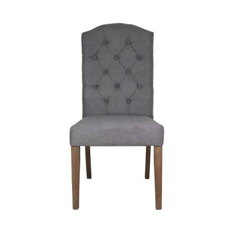 Chaise de salle à manger London - gris
