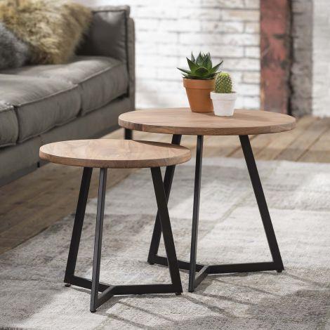 Tables gigognes Evie ø50cm