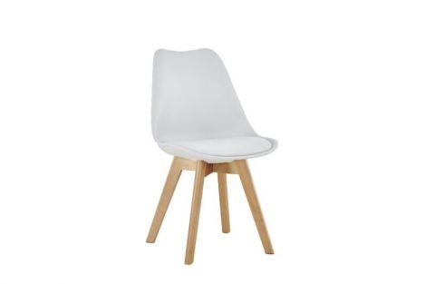 Lot de 4 chaises Malmo - blanc