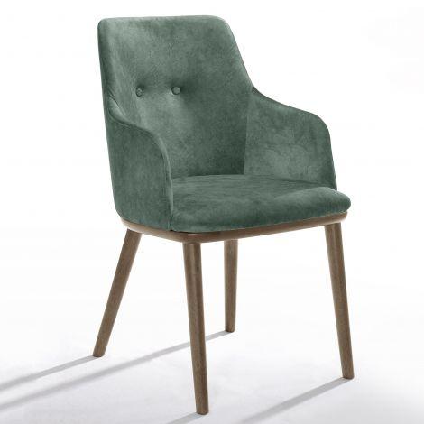Jeu de 2 chaises Moussa - vert