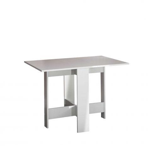 Table à manger Papillon 103 cm - blanc