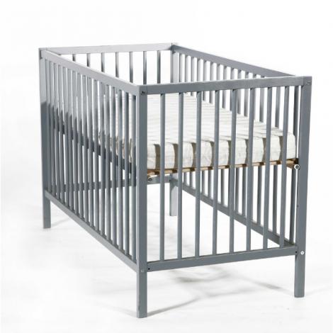 Lit bébé Proust 60x120 - gris