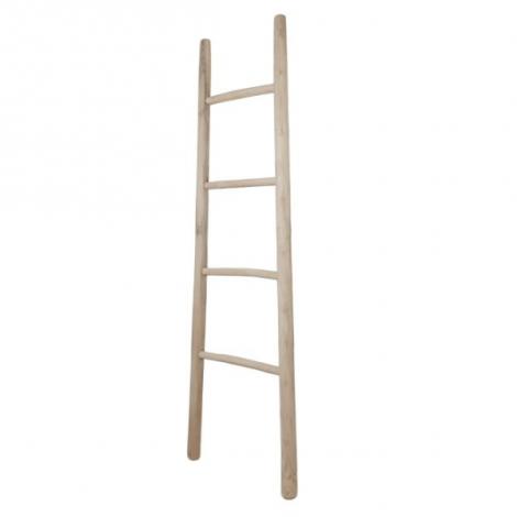 Echelle décorative 45x150cm - teck