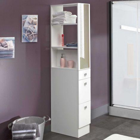 Armoire salle de bains Split - blanc