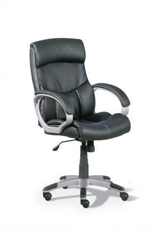 Chaise de bureau Alberti - noir
