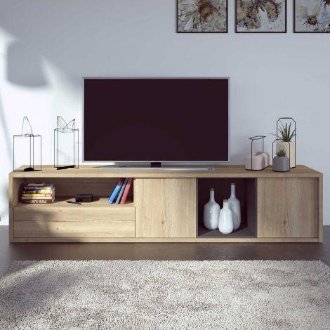 Meuble tv Frame 217cm - chêne clair
