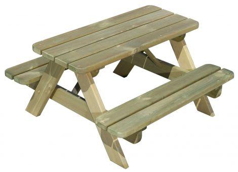 Table de pique-nique pour enfants – naturel