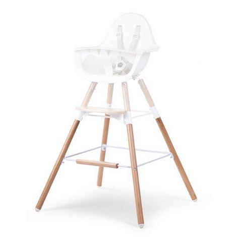 Pieds longs et repose-pieds pour chaise haute Evolu 2 - naturel