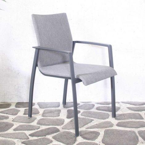 Chaise de jardin Solar - gris