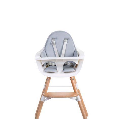 Coussin chaise Evolu - gris clair