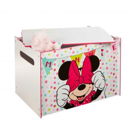 Coffre à jouets Minnie Mouse