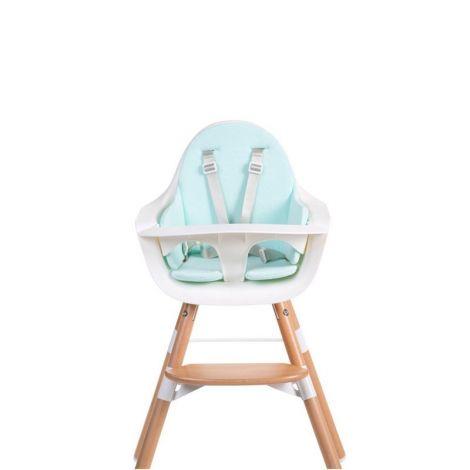 Coussin chaise Evolu - bleu menthe