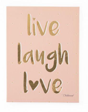 Tableau Live Laugh Love 30x40