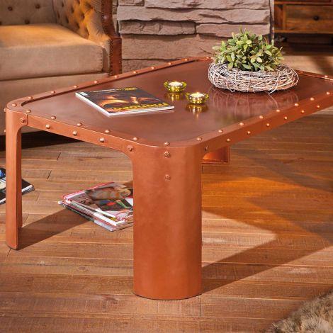 Table basse Gormur - cuivre