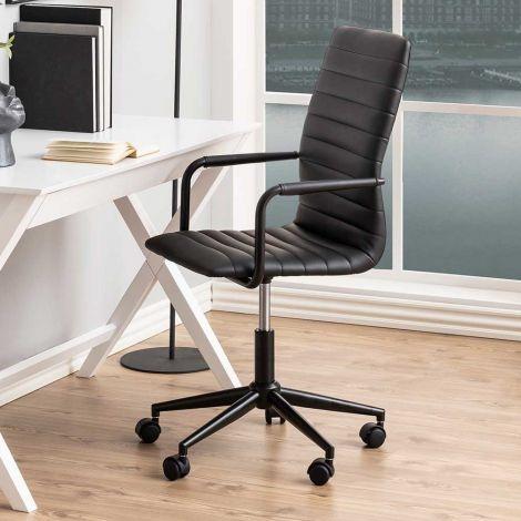 Chaise de bureau Windsor - noir