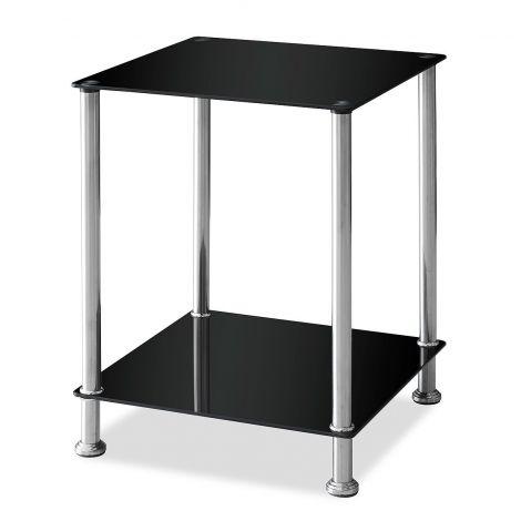 Table d'appoint Darko 40cm - noir/gris