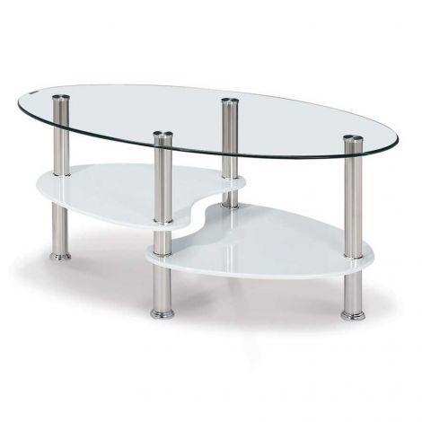 Table basse Gordon - blanc