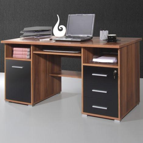 Bureau Beagle 145cm - noyer