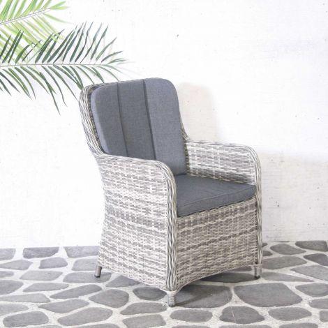 Chaise de jardin Connor - gris