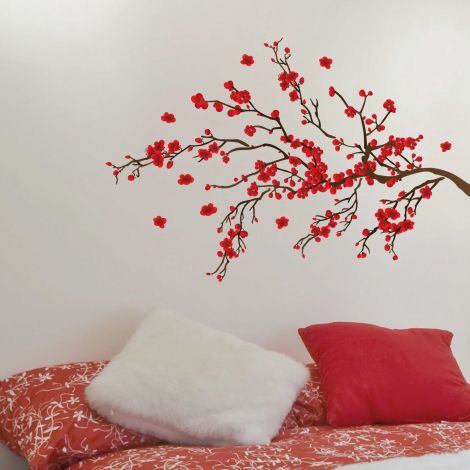 Sticker mural Red Ranage - Large