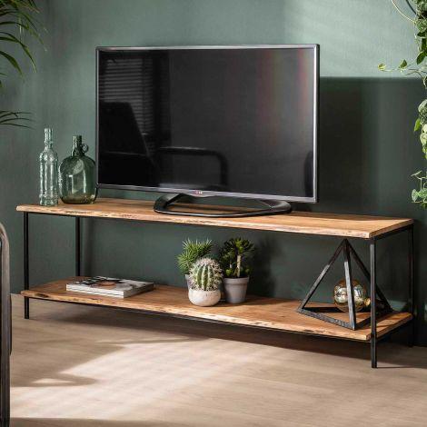 Meuble TV Ernest 150cm industriel - acacia