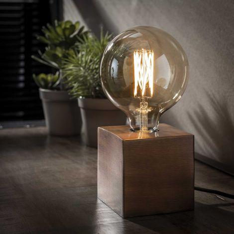 Lampe d'appoint Cubes - cuivre