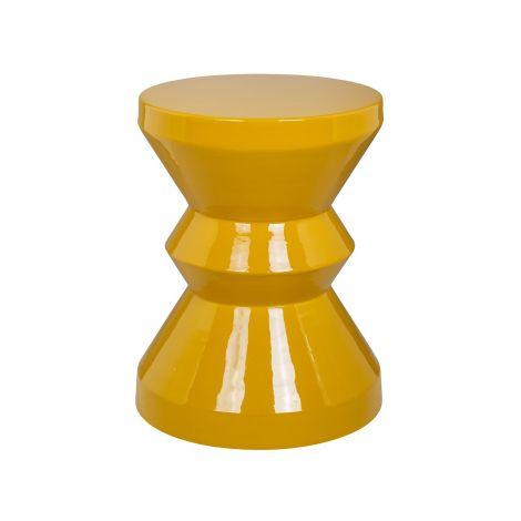 Table d'appoint Diavolo ø35cm - ochre