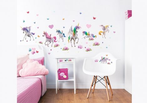 Stickers muraux Magical Unicorn
