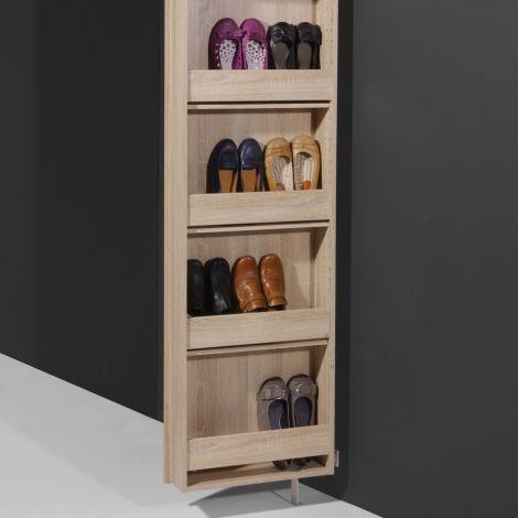 Armoire à chaussures Larsen - chêne