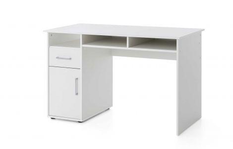 Bureau Maxi-office 125cm - blanc