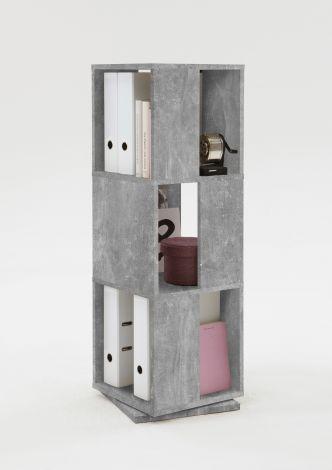 Meuble classeur Tower - béton