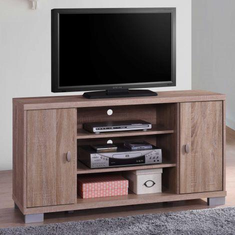 Meuble TV Belek 120cm - brun