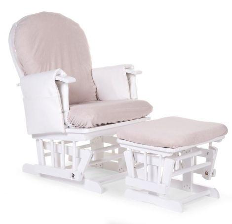 Housse de coussin pour fauteuil à bascule - gris