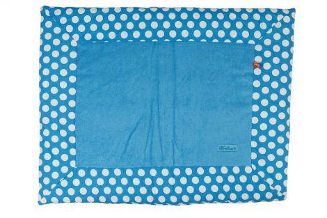 Tapis de parc Pois - bleu