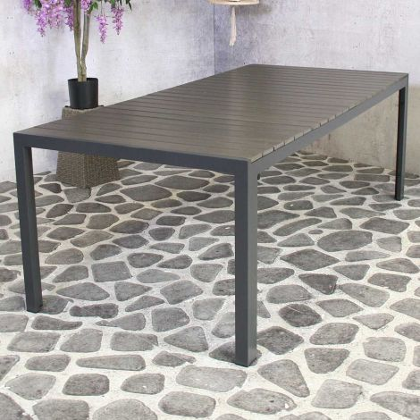 Table de jardin Jersey 220x100 – anthracite
