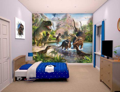 Papier peint Dinosaures