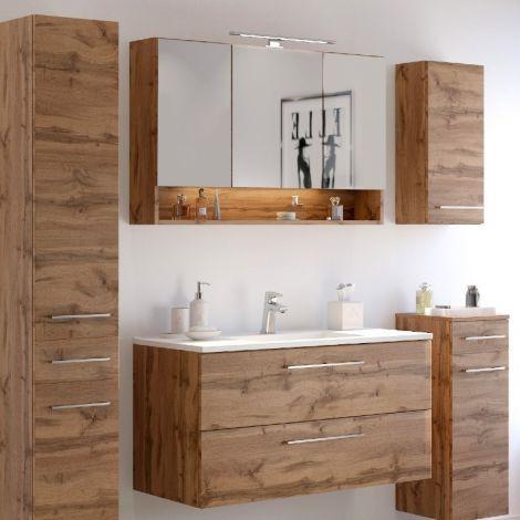 Ensemble salle de bains Sefa 4 - chêne wotan