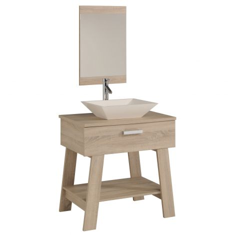 Meuble sous lavabo Octo