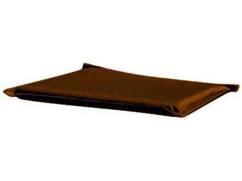 Coussin de siège pour chaise pliable - brun
