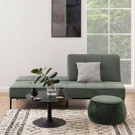 Canapé-lit Puglia - vert-gris