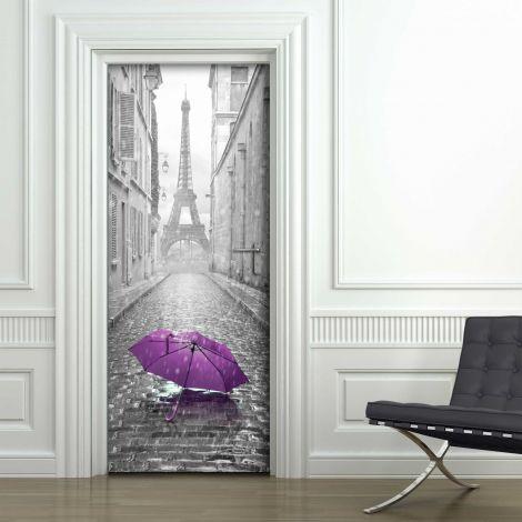 Sticker pour porte Tour Eiffel