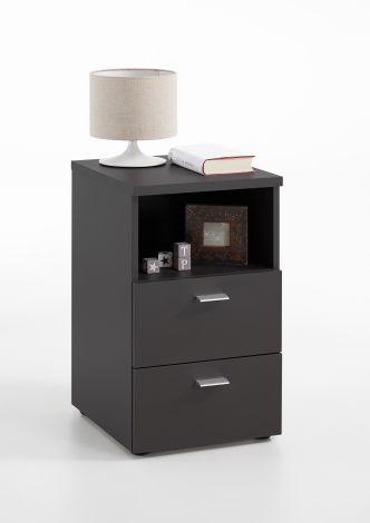 Table de chevet Colleen - noir