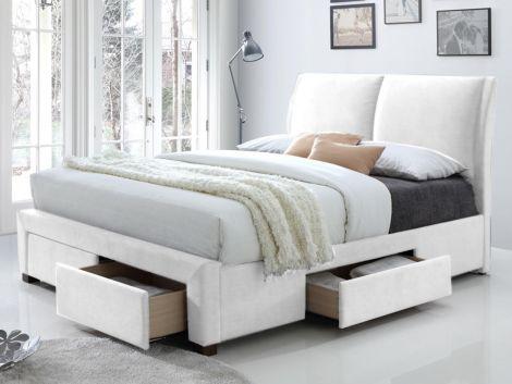 Lit Babano 140x200 - blanc