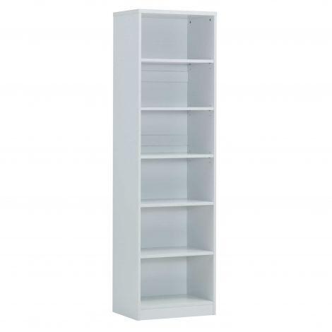 Bibliothèque Spacio 55cm à 5 tablettes - blanc