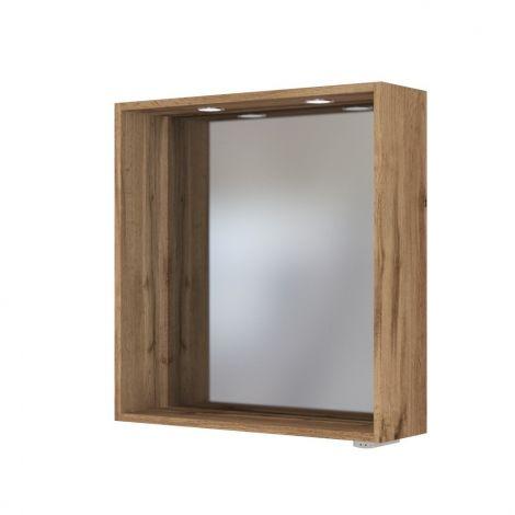 Miroir Dasa 60cm - chêne wotan