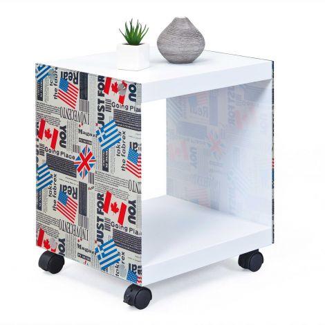 Table d'appoint Flagcube