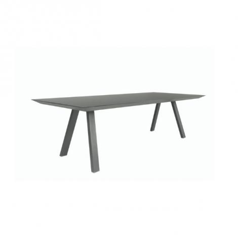 Table de jardin Bristol 260x110 - noir/anthracite